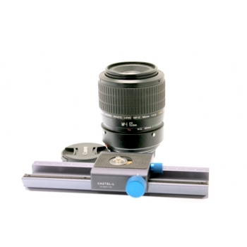 CANON EF 2.8/65 MP-E MACRO + RAIL MACRO NOVOFLEX 137009